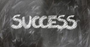 Word Success on a Chalkboard