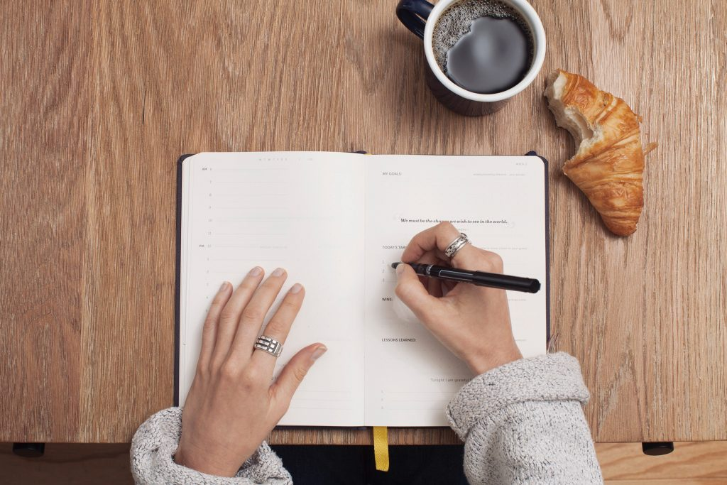 Writing: make a list of your accomplishments Photo by Cathryn Lavery on Unsplash