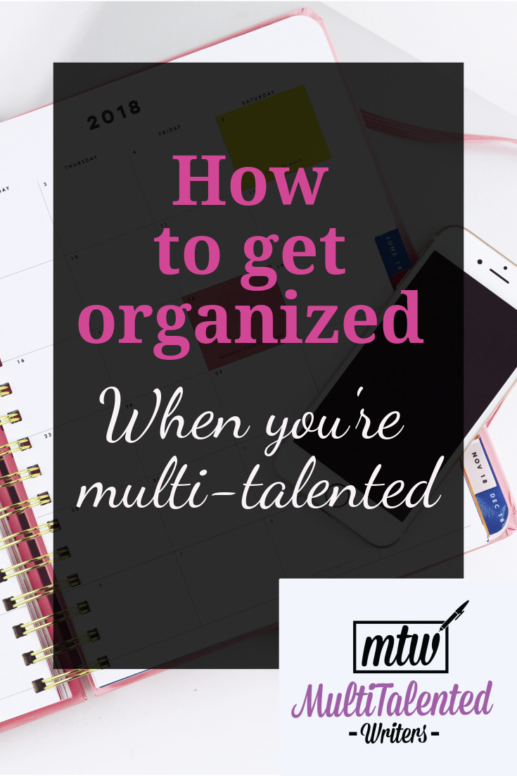 How to Get Organized when you're multitalented; Photo by EveryGirlBoss.com on Unsplash