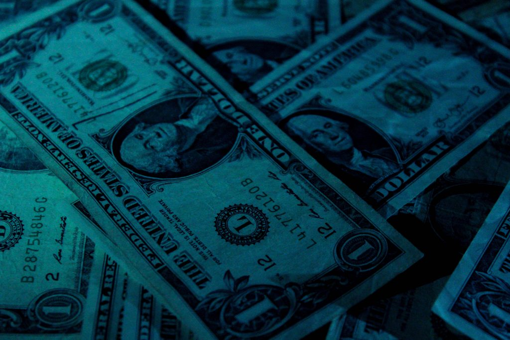 get paid for your writing; money Photo by Aidan Bartos on Unsplash