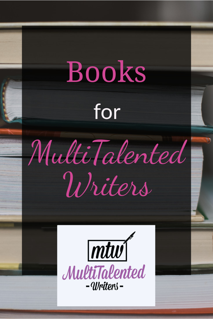 Books for multitalented writers; Photo by Claudia on Unsplash