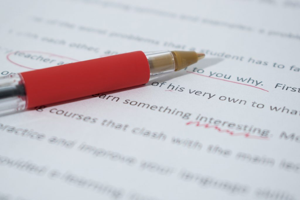 editing; be willing to be edited to under-promise and over-deliver as a freelance writer