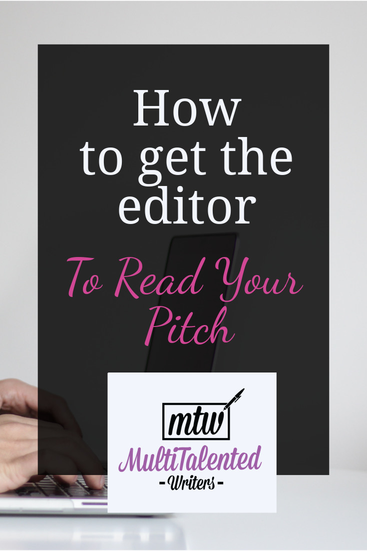 How to get the editor to read your pitch, Photo by NordWood Themes on Unsplash