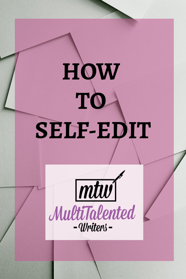 How to self-edit; Photo by Brandi Redd on Unsplash