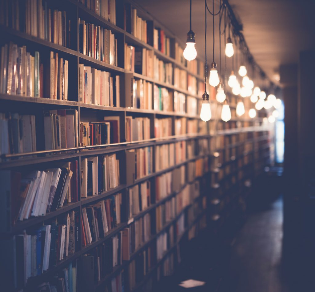 library of books that honours your MultiTalented Nature Photo by Janko Ferlič on Unsplash