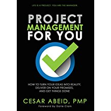 project management for you by Cesar Abeid; books for multitalented writers