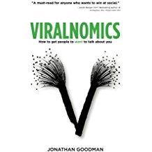 Viralnomics by Jon Goodman; books for multitalented writers