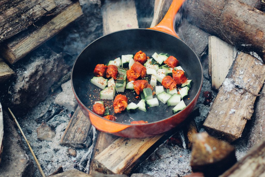 camping food Photo by Dan Edwards on Unsplash