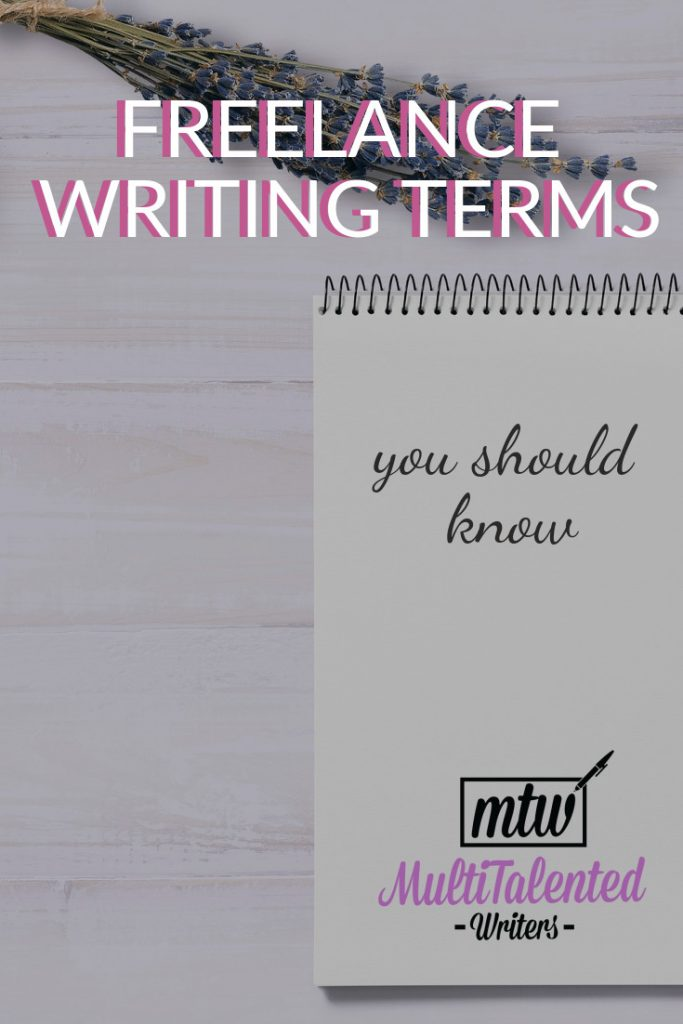 Freelance Writing Terms You Should Know
