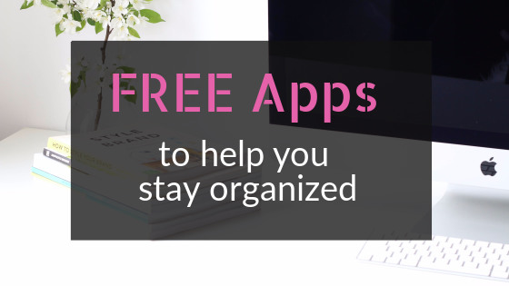Free apps to help writers stay organized