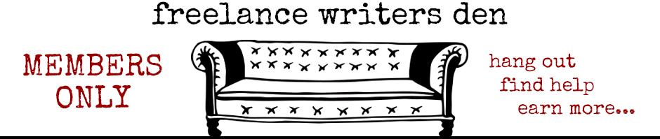 Freelance Writer's Den Banner