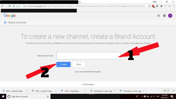 Creating a youtube channel screen capture; how to promote your business using Youtube