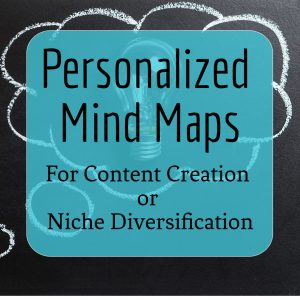 Personalized Mind Maps for Content Creation or Niche Diversification