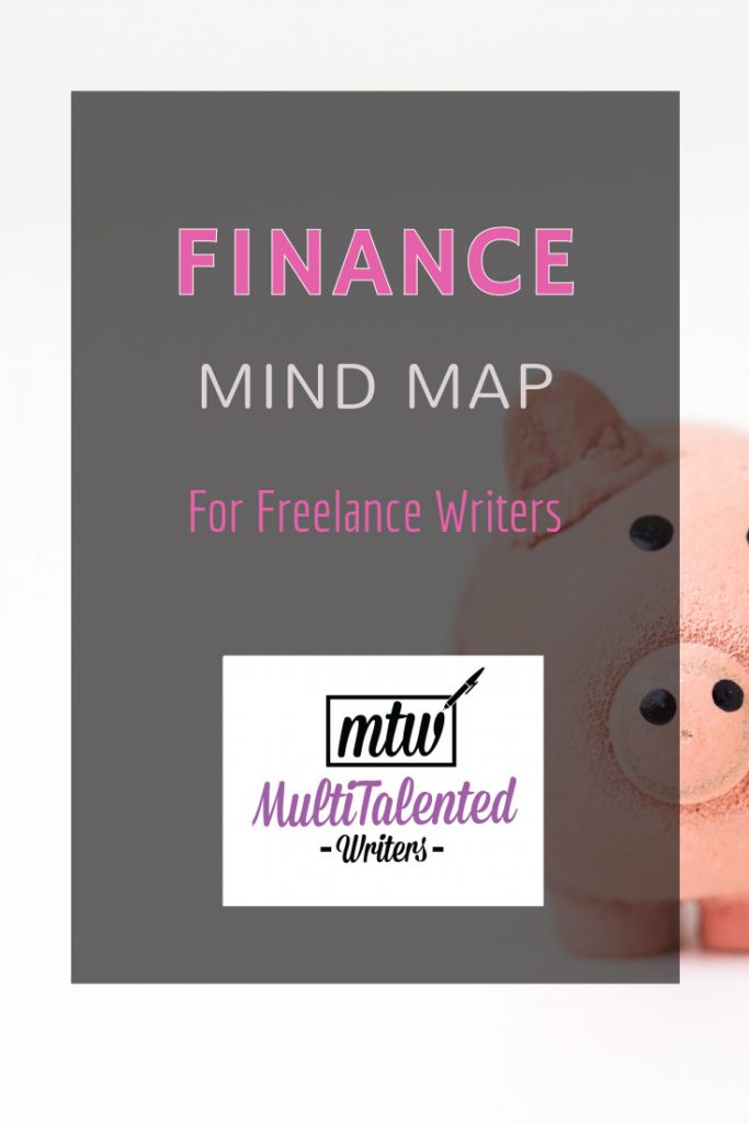 Finance mind map for freelance writers