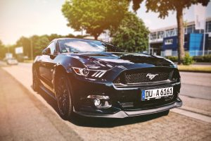 Black Mustang; car and automotive mind map; mind maps for freelance writing success