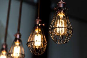 hanging lightbulbs, Photo by Francesco Casalino on Unsplash