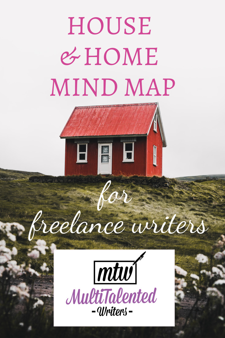 House and home mind map for freelance writers, MultiTalented Writers ,Photo by Luke Stackpoole on Unsplash
