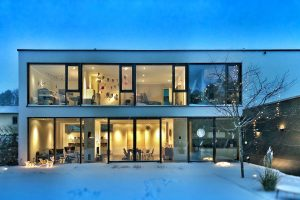 Modern house Photo by Stephan Bechert on Unsplash