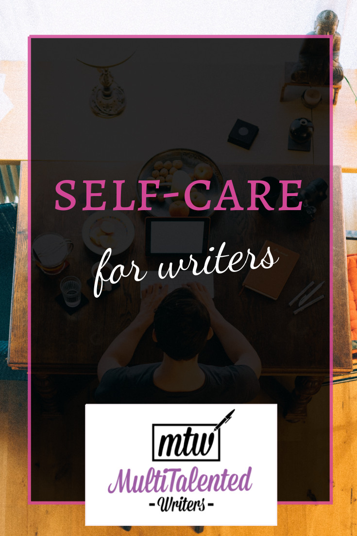 Self-care for writers might look a little different than the regular self-care advice you see. For one, seeing your work as work and ignoring the naysasyers will do wonders for your well-being. #selfcare #selfcareforwriters #writerselfcare #amwriting