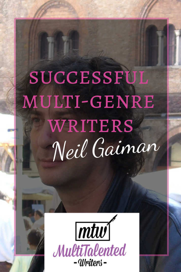 Neil Gaiman photo by Elena Torres on Flickr. Shared with modifications. See license at https://creativecommons.org/licenses/by-sa/2.0/legalcode