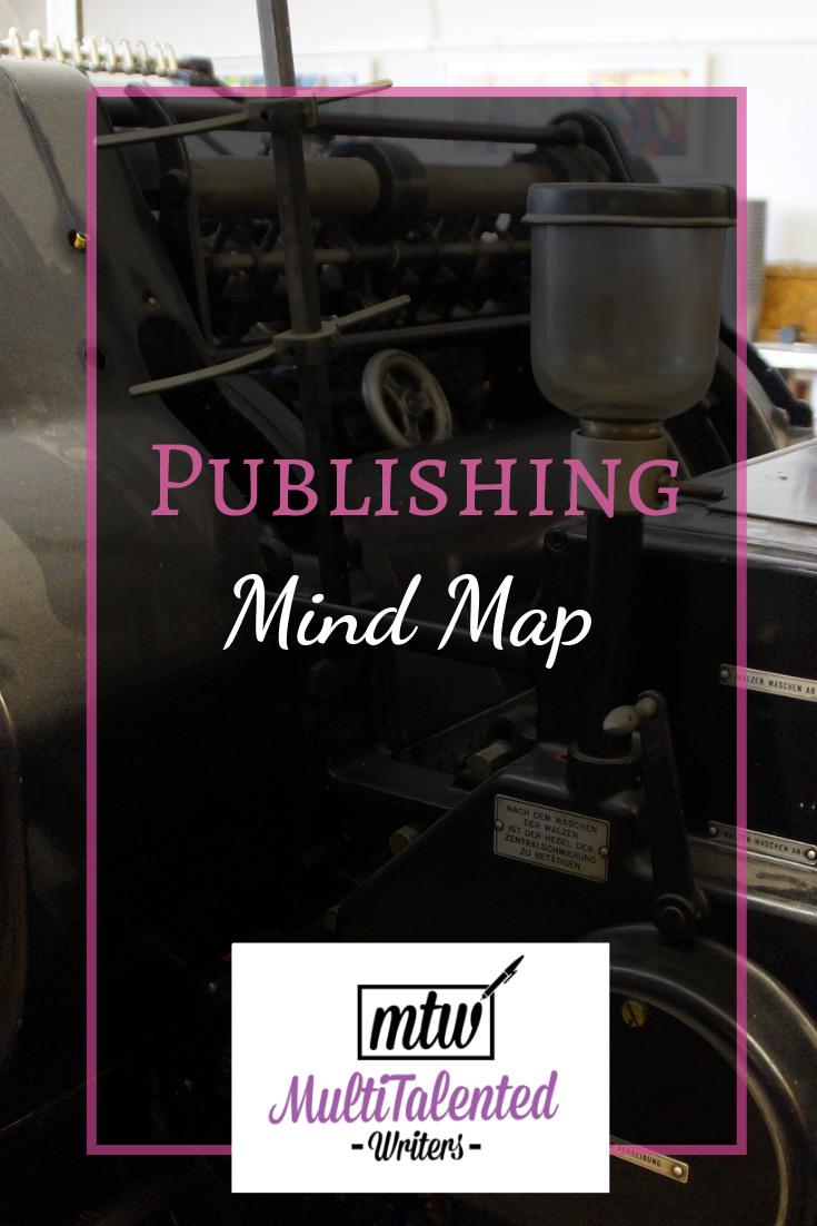 Publishing Mind Map, MultiTalented Writers