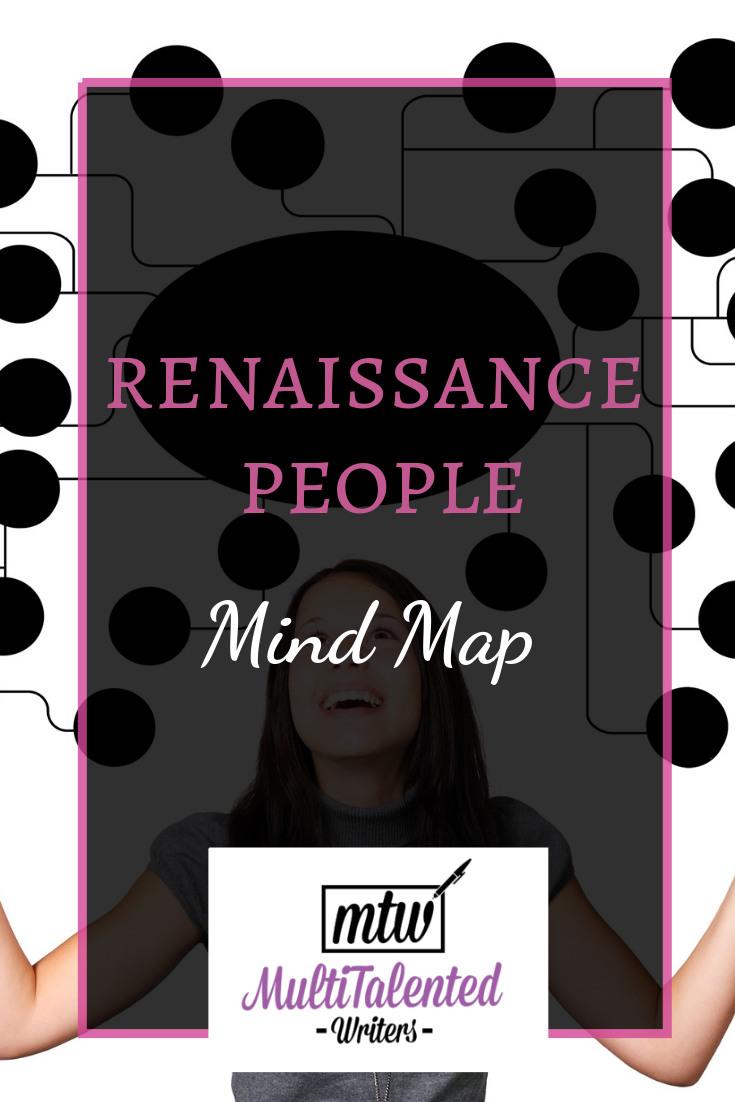 Renaissance People Mind Map, MultiTalented Writer