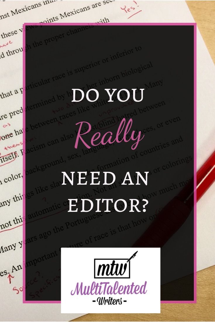 Do you really need an editor?