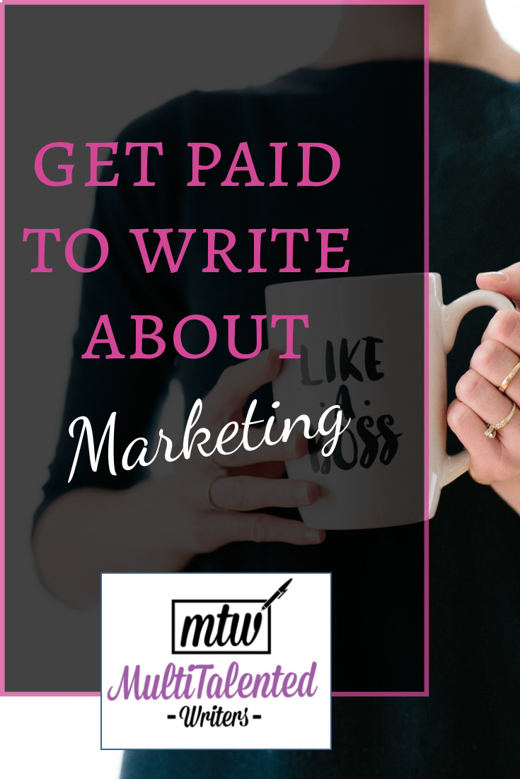 Get paid to write about marketing, MultiTalented Writers Photo by Brooke Lark on Unsplash